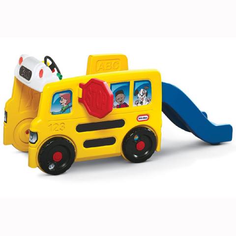 """Игровой центр """"Автобус с горкой"""" Little Tikes прокат"""
