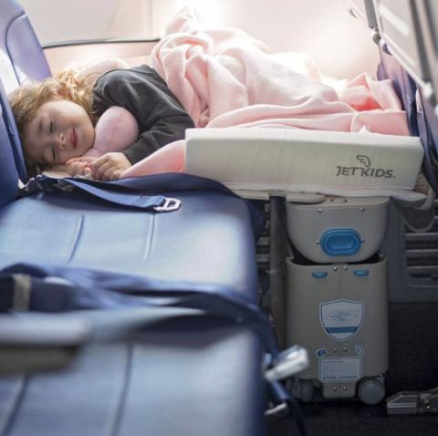 Чемодан-кровать BedBox Jetkids синяя прокат