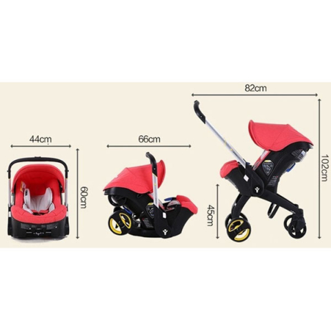 Коляска- автокресло Simple Parenting Doona аренда
