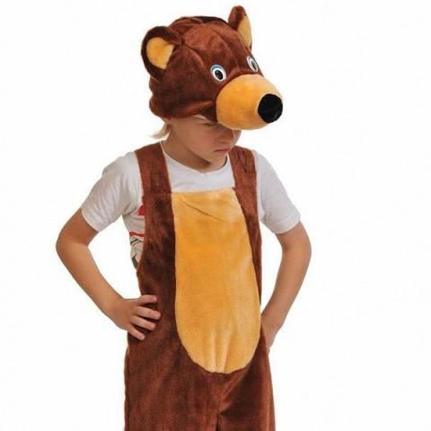 "Карнавальный костюм ""Бурый мишка напрокат"