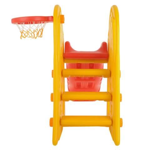 Аренда Горка Жираф с баскетбольным кольцом