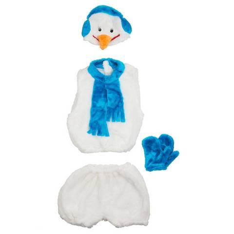 Карнавальный костюм «Снеговик напрокат
