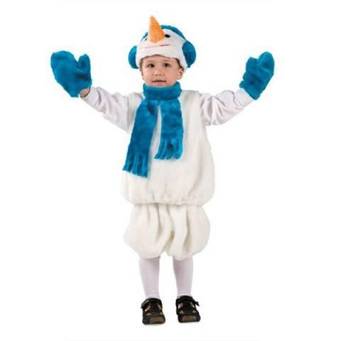 Карнавальный костюм «Снеговик прокат