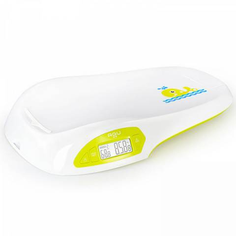 Электронные детские весы с ростомером AGU прокат