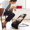 Кресло-шезлонг Babybjorn Balance, черный полоску аренда