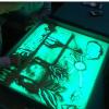 Прокат световой планшет со стеклянной крышкой